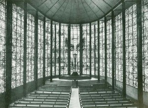 O. Bartning projektuota bažnyčia Kiolne, Vokietija. ©www.otto-bartning.de