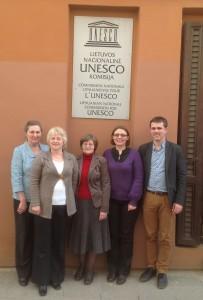 Susitikimo dalyviai: A. Lozdienė, D. Drungilienė, M. Bareikienė, M. Gaubytė, P. Mieželis © UPC