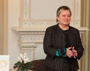 """J. Steponaitienė, Nacionalinio komiteto """"Pasaulio atmintis"""" pirmininkė. © V. Jadzgevičius"""